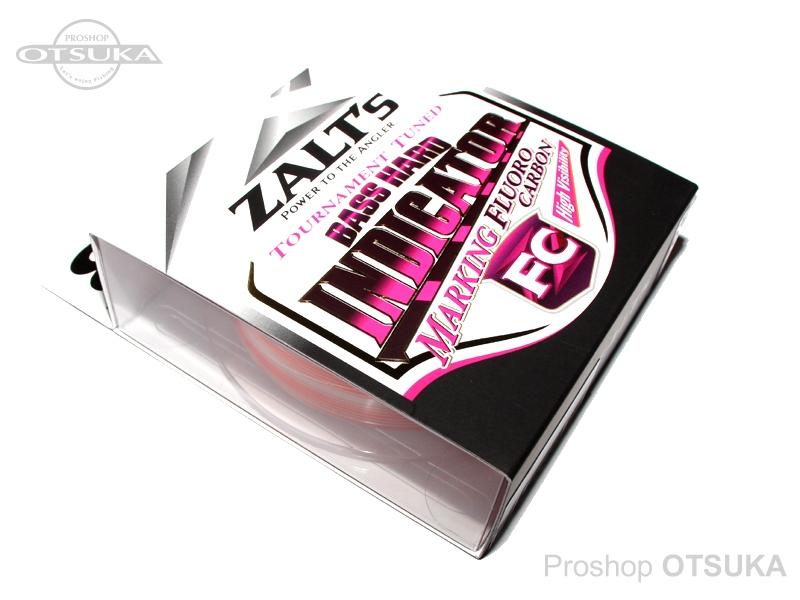 ラインシステム ザルツ ザルツ バスハード インジケーター FC 8lb 比重1.78 フロロカーボン  #オレンジマーキング