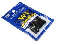 アクティブ 伸縮チューブ - ワッキーチューブトーナメント #ブラック #4mm