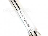 泡づけ本舗 カーボン浮子足 - 1.2 - 25cm×1.2
