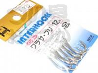 アマノ釣具 インターフック -  シルバー 12号