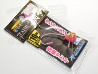 ジャッカル ビンビンテンヤ鯛夢 - 10号大 #ピンクグロー/ゴールド 10号 大針仕様