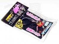 ジャッカル ビンビンテンヤ鯛夢 - 13号大 #レッド/ゴールド 13号 大針仕様