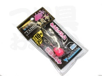 ジャッカル ビンビンテンヤ鯛夢 - 10号大 #スパークピンク 10号 大針仕様