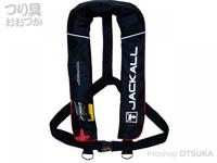 ジャッカル ライフジャケット - JK2520RS #ブラック/レッド