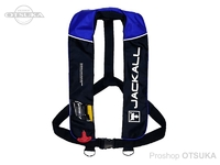 ジャッカル ライフジャケット - JK2520RS #ブラック/ブルー