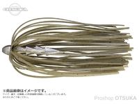 ジャッカル タングステンカスタムシンカー - ホールネイル # グリーンパンプキンペッパー 1/16oz 1.8g