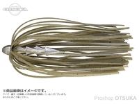 ジャッカル タングステンカスタムシンカー - ホールネイル # グリーンパンプキンペッパー 1/8oz 3.5g