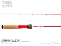 ジャッカル エッグキャスト - ソフティー120 #ウッディレッド 全長1.2m 自重105g 1ピース