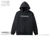 ティモン ティモン - プルオーバーフーディ # ブラック Mサイズ