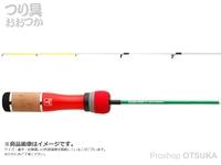 ジャッカル エッグアーム ワカサギー - 90 #クリスマスエッグ グラスロッド 90cm 72g 錘負荷~15g