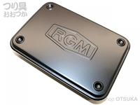 ジャッカル RGM(ルースターギアマーケット) - スチールツールボックス #ブラック W154×D105×H29mm
