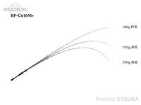 ジャッカル BPM - BP-C610M+  6.10ft 5-28g 8-16lb
