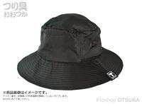 ジャッカル ハット - パッカブル #ブラック フリーサイズ