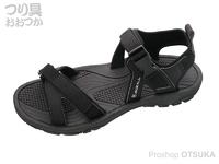 ジャッカル アウトドアサンダル -  #ブラック Sサイズ 25.5cm