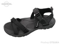 ジャッカル アウトドアサンダル -  #ブラック Lサイズ 27.5cm
