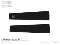 ジャッカル アームガード -  #ブラック 袖口16~18cm 上腕24~30cm