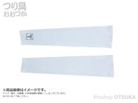 ジャッカル アームガード -  #ホワイト 袖口16~18cm 上腕24~30cm