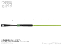 ジャッカル グッドロッド - GD-S62L-2PC #グリーン 6.0ft ルアー3-10g