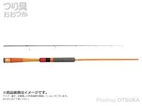 ジャッカル グッドロッド - GD-S62L-2PC #オレンジ 6.0ft ルアー3-10g