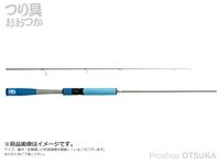 ジャッカル グッドロッド - GD-S62L-2PC #ブルー 6.0ft ルアー3-10g