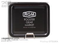 ジャッカル RGM(ルースターギアマーケット) - RGM TINケース #ブラック 約 縦8×横10×深さ3cm