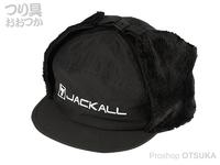 ジャッカル キャップ - イヤーフラップ #ブラック フリー
