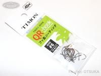 ティモン QRフック -  #ガンメタ サイズ 6 15本入り