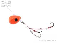 ジャッカル ビンビンテンヤ鯛夢 - 遊動 #オレンジゴールドフレーク 5号
