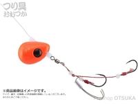 ジャッカル ビンビンテンヤ鯛夢 - 遊動 #オレンジゴールドフレーク 13号