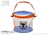 ジャッカル エッグバケット -  #サンライズパープル 直径250mm×高さ210mm