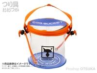 ジャッカル エッグバケット - ミニ #サンライズパープル 直径160mm×高さ160mm