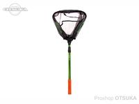 ジャッカル ネット - EGG マルチ折り畳み #グリーン 全長 約110.5cm / 折り畳み時 約54cm