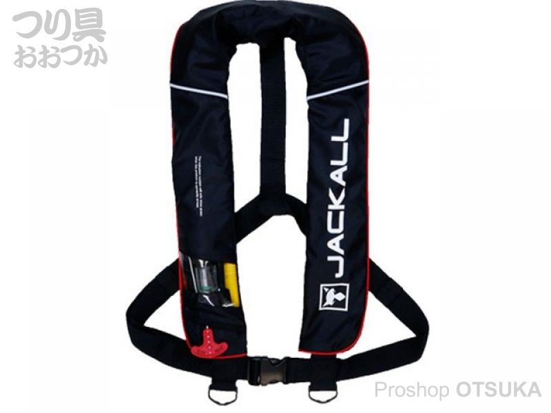 ジャッカル ライフジャケット JK2520RS  #ブラック/レッド