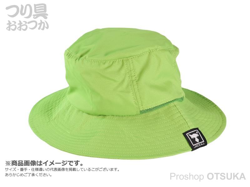 ジャッカル ハット パッカブルハット フリーサイズ #グリーン