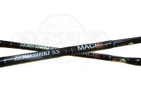 ゼニス 零式SS マッハ3 - ZSM62S-3 最大ドラグ4kg/45度 自重181g 6.2ft 60-140g PE~3