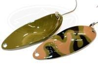 ウォーターランド アルミン -  3.4g #C04 オリーブ/ブラウンカモ 3.4g