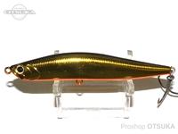 ウォーターランド ローリングスティック -  95H #02 ブラック/ゴールド 95mm 35g