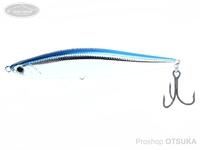 ウォーターランド ローリングスティック -  95H #07 ブルー/シルバー 95mm 35g