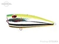 ウォーターランド レッドアイポップ -  #05 チャート/シルバー 8.5g 65mm