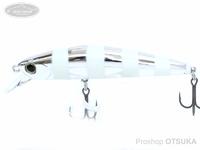 ウォーターランド ジャークソニック -  65 #13 シルバーゼブラ 65mm 6.5g ヘビーシンキング