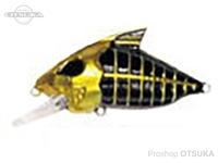 ウォーターランド スケルトンクランク -  #04 ゴールド/ブラック 59mm 15g