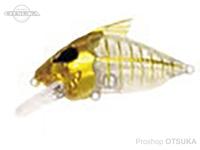 ウォーターランド スケルトンクランク -   #05 ゴールド/クリア 59mm 15g