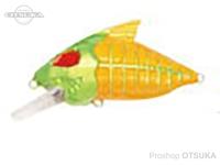 ウォーターランド スケルトンクランク -   #06 チャート/イエロー 59mm 15g