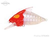 ウォーターランド スケルトンクランク -   #07 レッドヘッド 59mm 15g