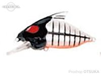 ウォーターランド スケルトンクランク -  #09 ブラック/ホワイト 59mm 15g