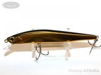 ウォーターランド ジャークソニック -  110F #02 ブラック/ゴールド 110mm 12g フローティング