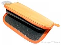 ウォーターランド ルアーケース・ワレット - ヤギ革スプーンワレット #オレンジ XLサイズ H13.5cm×W21cm