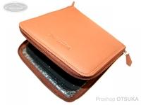 ウォーターランド ルアーケース・ワレット - ヤギ革スプーンワレット #ブラウン ボックスメガサイズ H19cm×W17.5cm