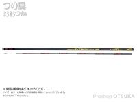 下野オリジナル MJB ブラックバージョン ファイター - 90CW 大鮎荒瀬 - 9.0m 自重295g 錘負荷0-6号
