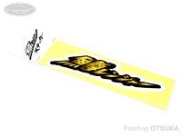 下野オリジナル 鱒レンジャー - ステッカー # ロゴ